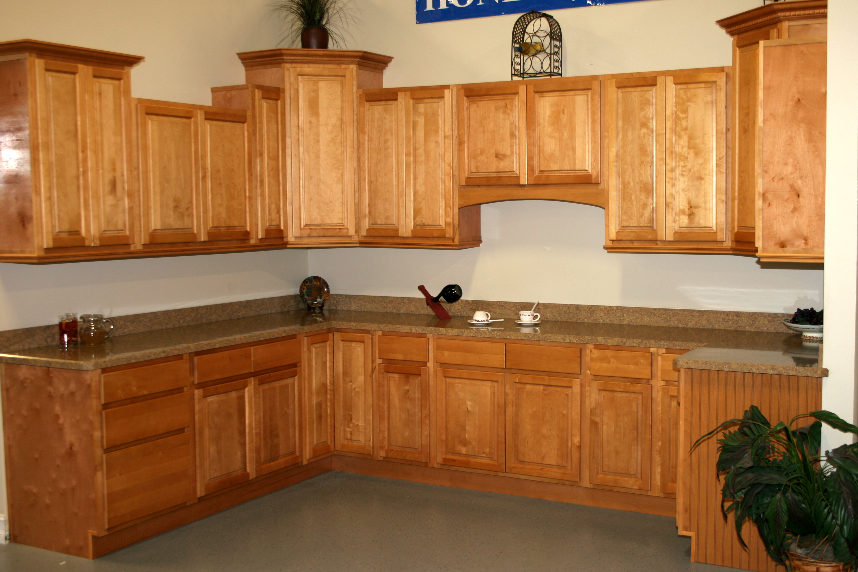blind kitchen cabinet